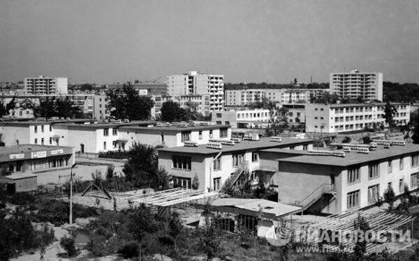 Место эпицентра ташкентского землетрясения 1966 года