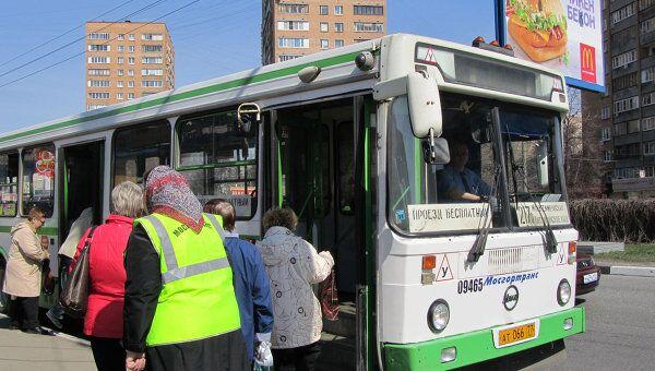 Автобус Мосгортранса. Архив