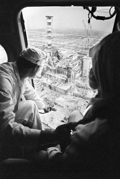 Составление карты радиационной обстановки Чернобыльской АЭС