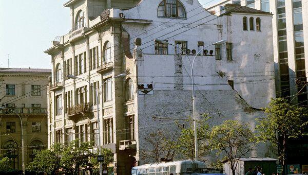 Здание редакции газеты Труд