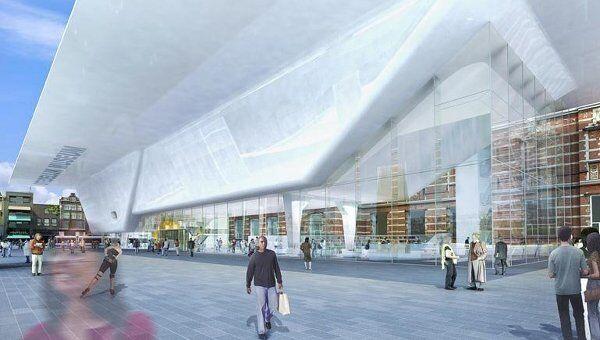 Проект интерьера музея Stedelijk Museum Amsterdam