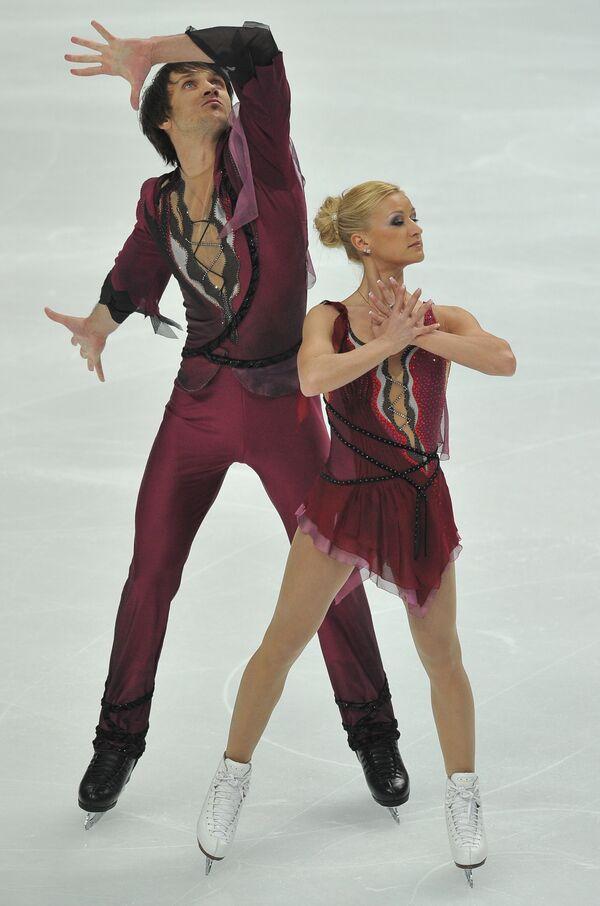 Татьяна Волосожар (справа) и Максим Траньков