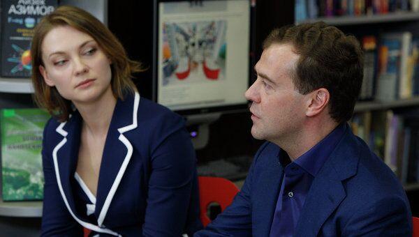 Президент РФ Д.Медведев встретился с представителями интернет-сообщества