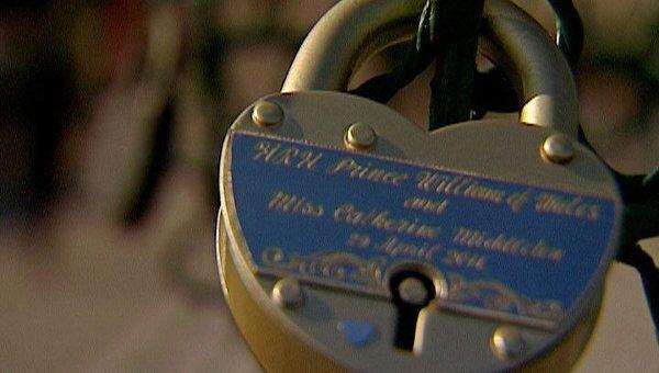 Союз принца Уильяма и Кейт укрепили в Москве символическим замком