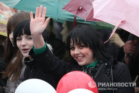 Первомайские демонстрации в регионах России