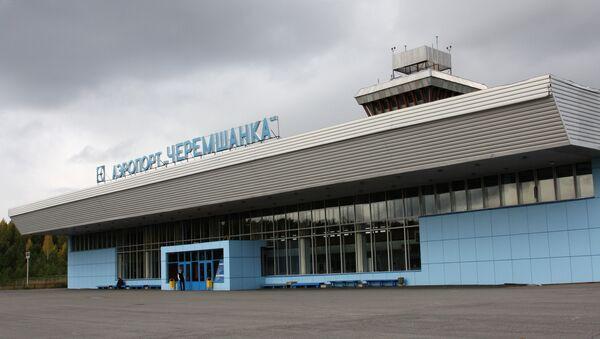Аэропорт Черемшанка в Красноярске. Архив