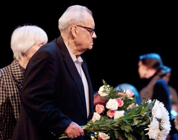 Прощание с народным артистом России Александром Лазаревым