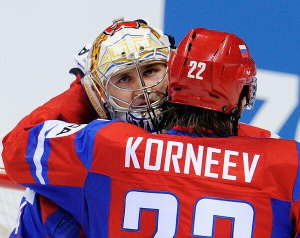 Константин Барулин и Константин Корнеев (слева направо). Архив