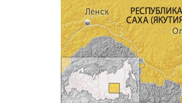 Олёкминский район Якутии