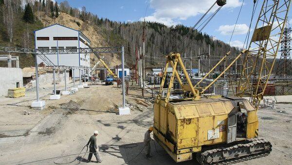 Восстановительные работы на шахте Распадская. Архивное фото