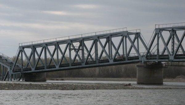 В Хакасии рухнул пролет железнодорожного моста