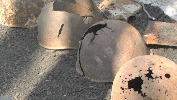 Находки поисковых отрядов и технику ВОВ показали в Уфе в День Победы