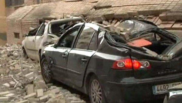 Обстановка в Испании после сильнейшего за 55 лет землетрясения