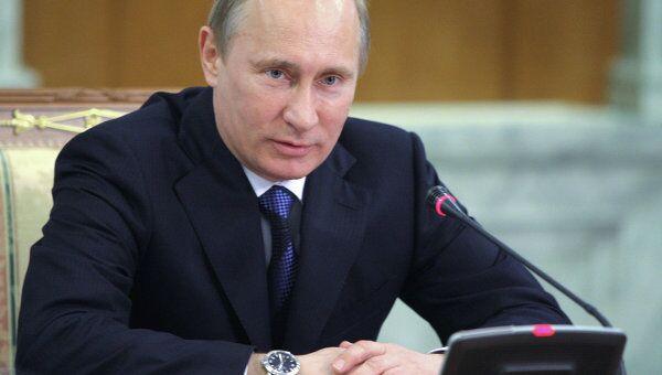 Встреча премьер-министра РФ Владимира Путина с активом Общероссийского народного фронта в Сочи