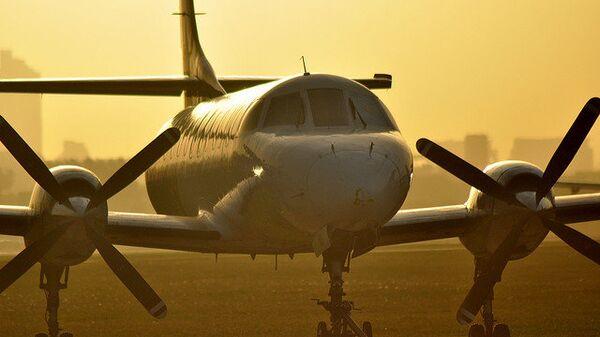 Самолет Saab 340, архивное фото.