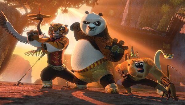 Кадр из мультфильма Кунг-фу Панда 2