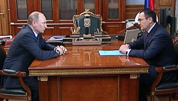 Путин поручил Федорову разработать предвыборную программу ОНФ и ЕР
