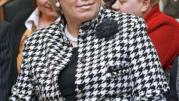 Член Общественной палаты при президенте РФ, вице-президент Медиасоюза Елена Зелинская. Архив