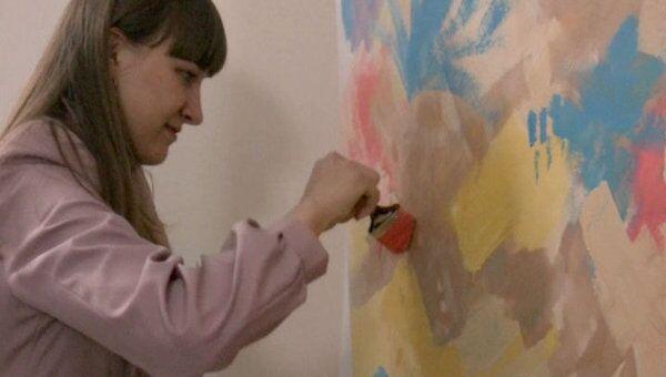 Томичи провели Ночь в музее, рисуя картины и загадывая желания