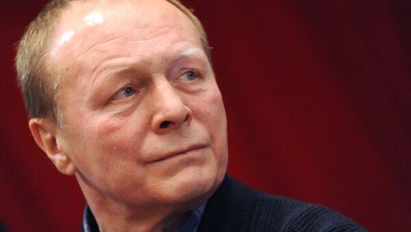 Борис Галкин на собрании членов Союза кинематографистов России, проживающих в Москве и Московской области