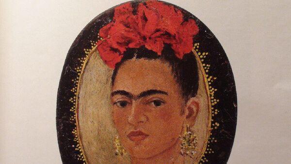 Автопортрет мексиканской художницы Фриды Кало. Архивное фото