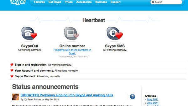 Skype Heartbeat