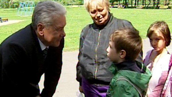 Москвичи рассказали Собянину, что им нравятся перемены в парках и дворах