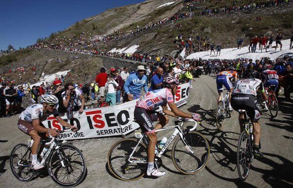 Участники 20-го этапа Джиро д'Италия