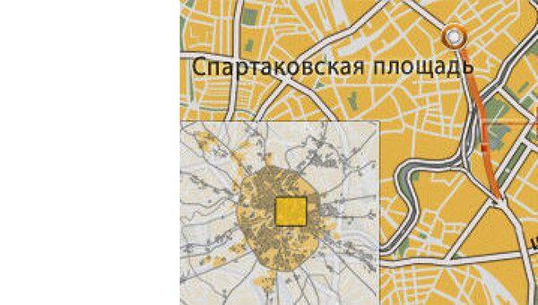 Лефортовский тоннель в Москве