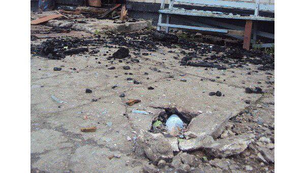 Последствия взрывов в воинской части в Башкирии. Архив