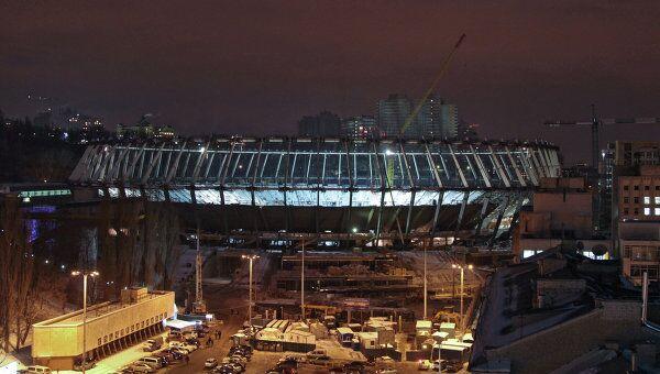 Реконструкция стадиона Олимпийский в Киеве