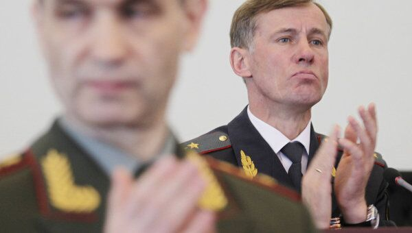 Генерал-лейтенант полиции Александр Горовой Указом президента назначен первым заместителем министра внутренних дел России