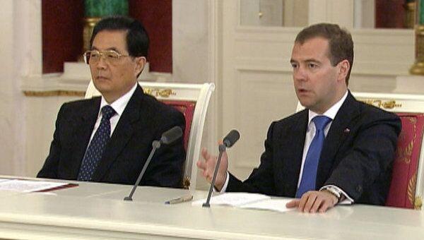 Медведев рассказал, что дает РФ и КНР сотрудничество в газовой сфере