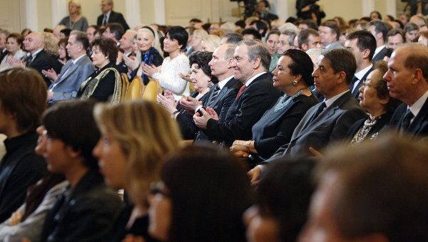 Гости и члены жюри Международного конкурса имени П.И.Чайковского. Архивное фото