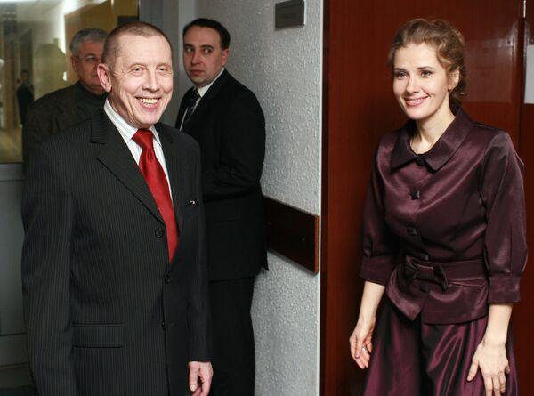 Церемония вручения премии «Своя колея» прошла в концертной студии «Останкино» в Москве