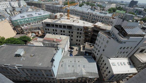 Административные здания в центре Москвы