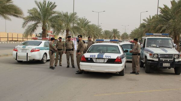 Дорожная полиция Саудовской Аравии. Архивное фото