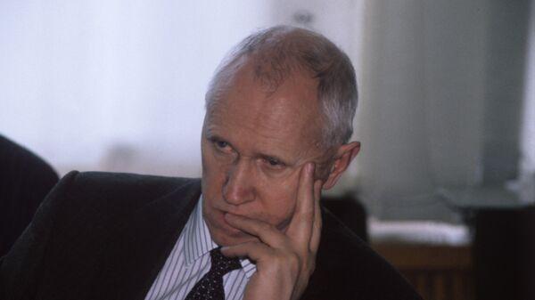 Министр РФ по атомной энергии Евгений Адамов. Архивное фото