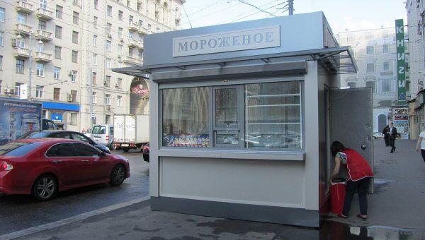 Палатка нового образца в Москве. Архив