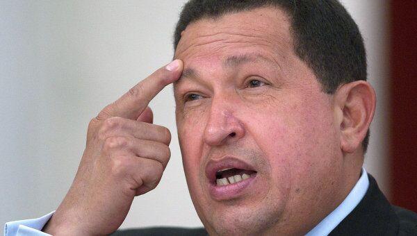 Президент Венесуэлы Уго Чавес. Архив.