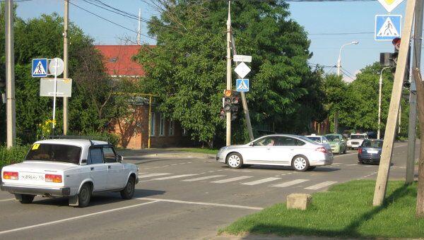 аварийные перекрестки в Краснодаре