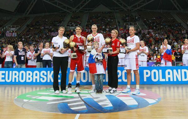 Пятерка лучших игроков ЧЕ-2011