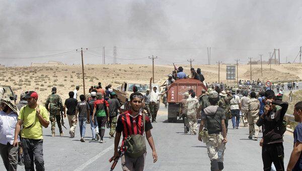 Военная обстановка в Ливии