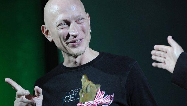 Музыкант и актер Евгений Федоров