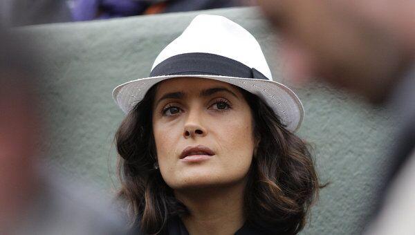 Мексиканская актриса Сальма Хайек, Архивное фото