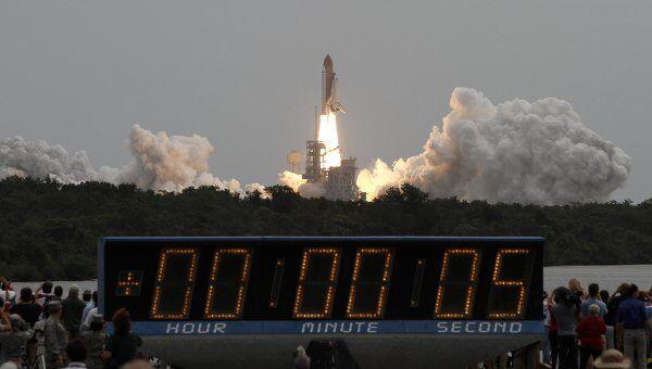 Последний старт шаттла Атлантис 8 июля 2011 года