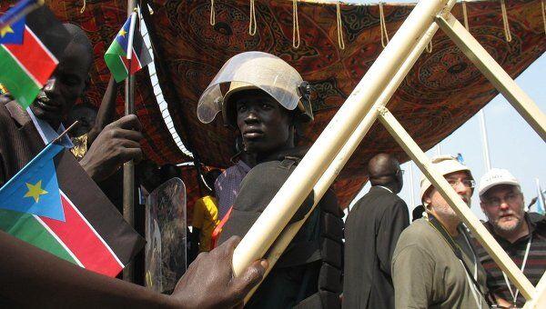 Празднование независимости Южного Судана