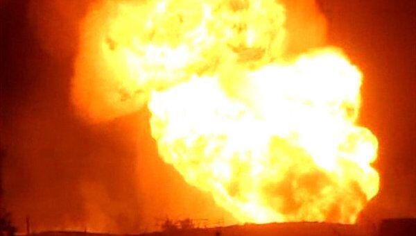 Четверо неизвестных взорвали газопровод в Египте. Видео с места ЧП