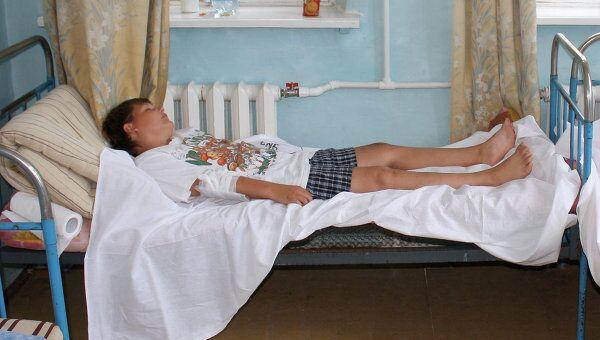 Российские дети, отравившиеся в Крыму, в больнице Севастополя