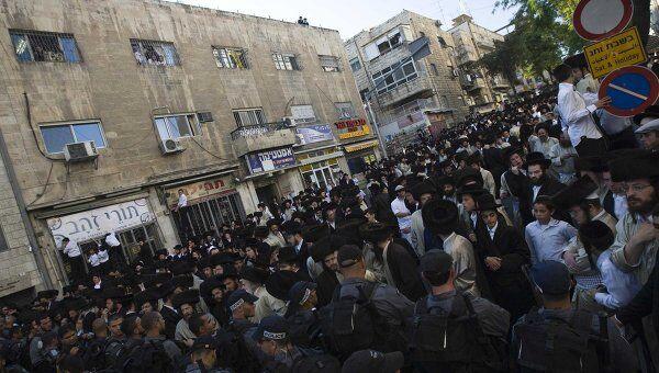 Ультраортодоксальные евреи устроили беспорядки в Иерусалиме из-за работающих по субботам парковок
